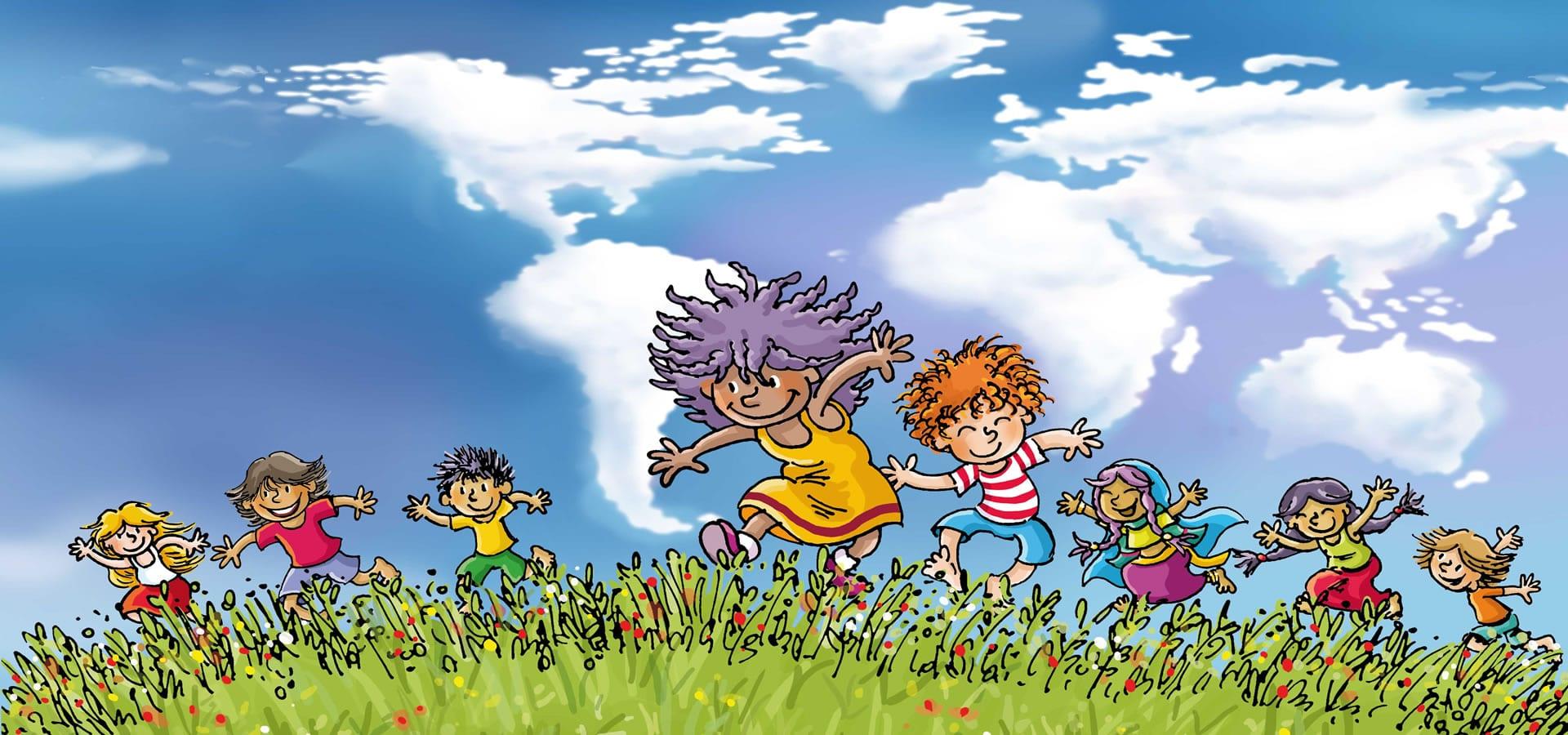 Juegos cooperativos para niños y niñas