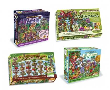 Novedades en nuestro catálogo de juegos de mesa cooperativos