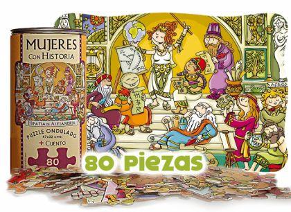 Puzzle Hipatia de Alejandría