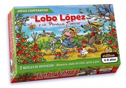 El lobo López y la pandilla tomate