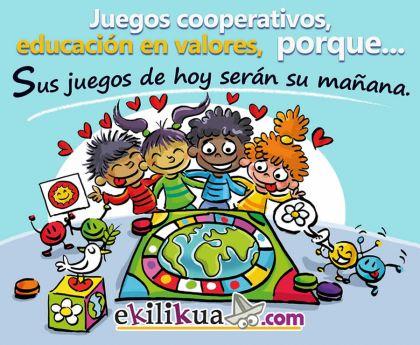 Educación en valores a través de los juegos de mesa cooperativos