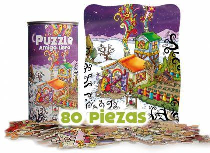 Puzzle Amigo libro