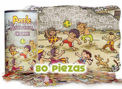 Puzzle Niños de la Calle