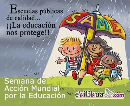 Semana de Acción Mundial por la Educación