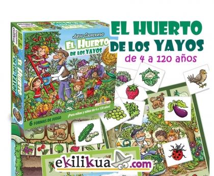 Juego de mesa cooperativo para abuelos y nietos, El Huerto de los Yayos